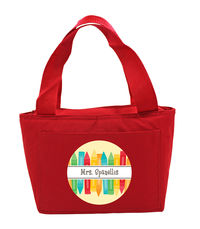 Bunch of Crayons Teacher Insulated Tote
