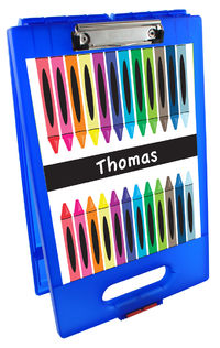 Crayon Creative Clipboard Storage Case