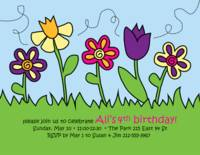 May Flowers Invitation