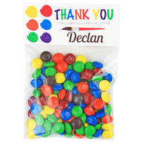Paint Palette Birthday Party Candy Bag Favors