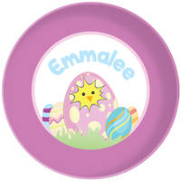 Cracked Egg Purple Plate