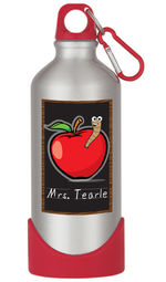 Apple for Teacher Water Bottle