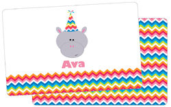 Birthday Hippo Placemat