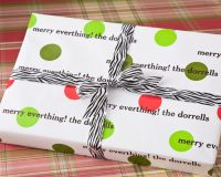 Holiday Dots Gift Wrap HDW02