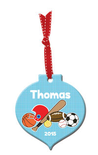 Just Sporty Acrylic Ornament