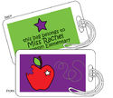 An Apple A Day Tag