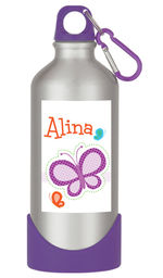 Dotted Butterfly Water Bottle