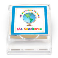 Teachers Change The World Sticky Note Holder