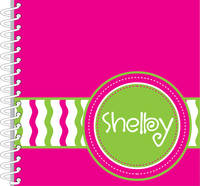 Fuchsia Green Journal | Notebook