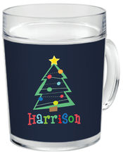 Crazy Christmas Clear Acrylic Mug