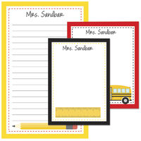 Way To Go To School Pad Set