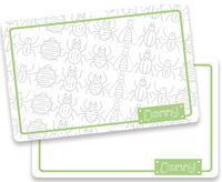 Bugs Dry Erase Placemat