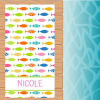Colorful Fish Beach Towel