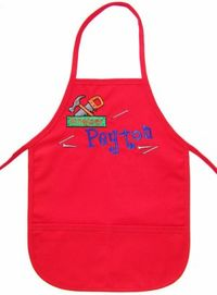 Tools Embroidered Apron