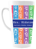 Colorful Kids Ceramic Coffee Mug