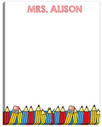 Color Pencil Large Notepad