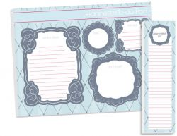 Modern Argyle To Do Pad Set