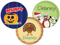 Holiday Plate Set 2