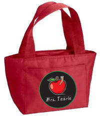 Apple for Teacher II Insulated Tote
