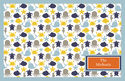 Blue Sea Fun Paper Placemats