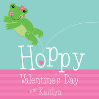 Froggy Valentine's Stickers