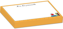 Apple Ruler Bulky Notepad