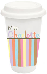 Pastel Border Covered Tumbler
