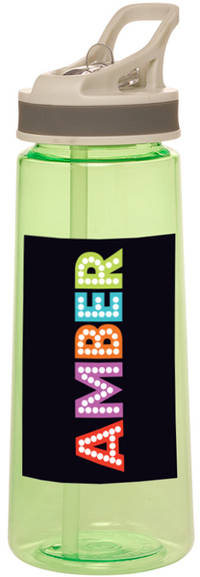 Broadway Letters Water Bottle