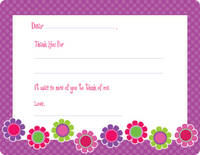 Bright Daisies Fill-in Card