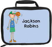 Basketball Boy Lunch Box