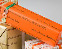 Candy Corn Orange Gift Wrap WP21