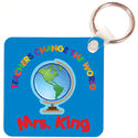 Teachers Change the World Key Chain