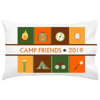 Camp Gear Forest UNPERSONALIZED Pillowcase