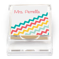 Angled Chevron Sticky Note Holder