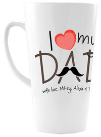 Love Dad Ceramic Coffee Mug