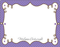 Cafe Lavender Note Card