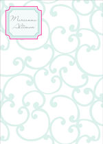 Elegant Curls Memo Sheets
