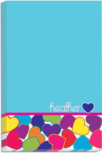 Bright Hearts Icon Pad