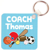 Just Sporty II Coach Key Chain
