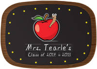 Apple for Teacher Melamine Platter