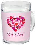 Heart Of Hearts Acrylic Mug