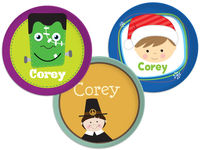 Holiday Plate Set 4