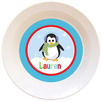 Penguin Girl Bowl