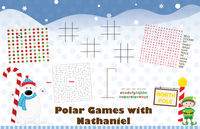 Polar Fun Paper Placemats