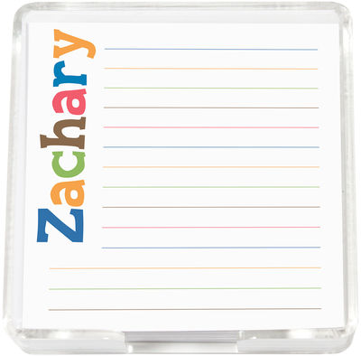 Letter Hues Boy Mini Memo Sheets