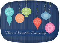 Bright Ornaments Platter