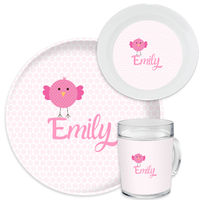 Chicky Baby Dinnerware Set