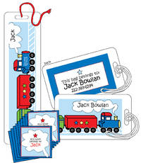 Birthday Train Reader Set