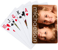 Chocolate Sketch Playing Cards