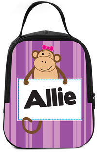 Monkey Business Girl Lunch Box